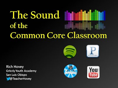http://www.slideshare.net/mrhovey/the-sound-of-the-common-core